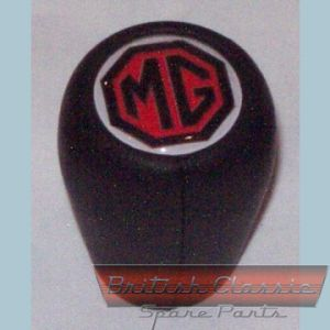 Gear-Knod-Leather-MG-Logo -- British Classic Spare Parts