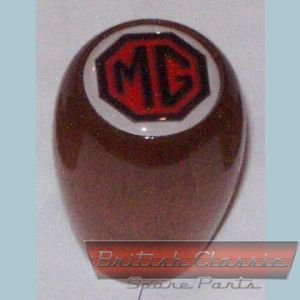 Gear-Knod-Wood-MG-Logo -- British Classic Spare Parts