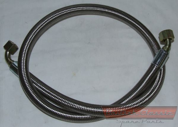 MGB stainless steel oil hoses 1967-1975