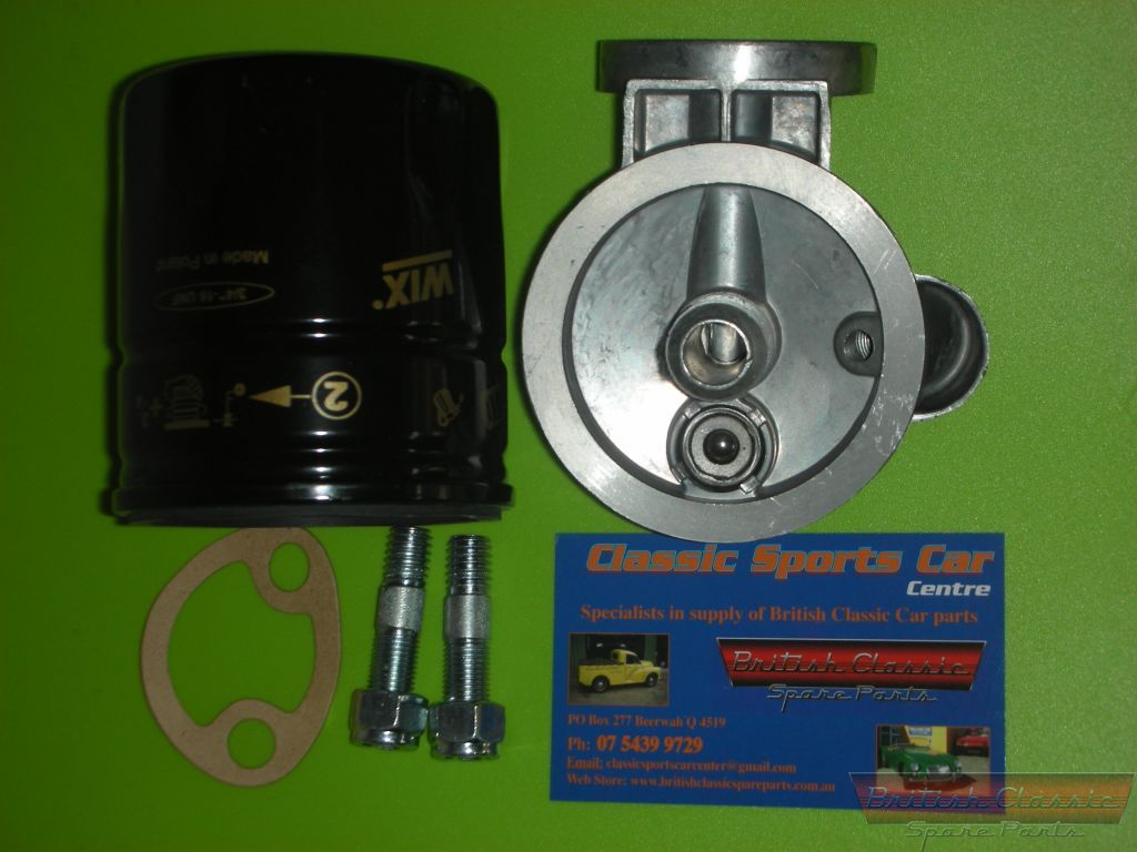 Oil Filter Conversion Kit Allows You To Use Canister