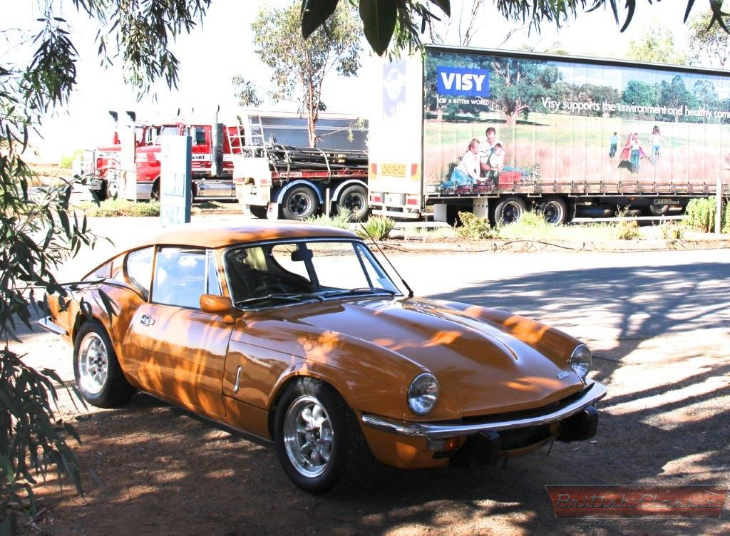 Triumph GT6 Mk3 - This car is comming available, if interested ...